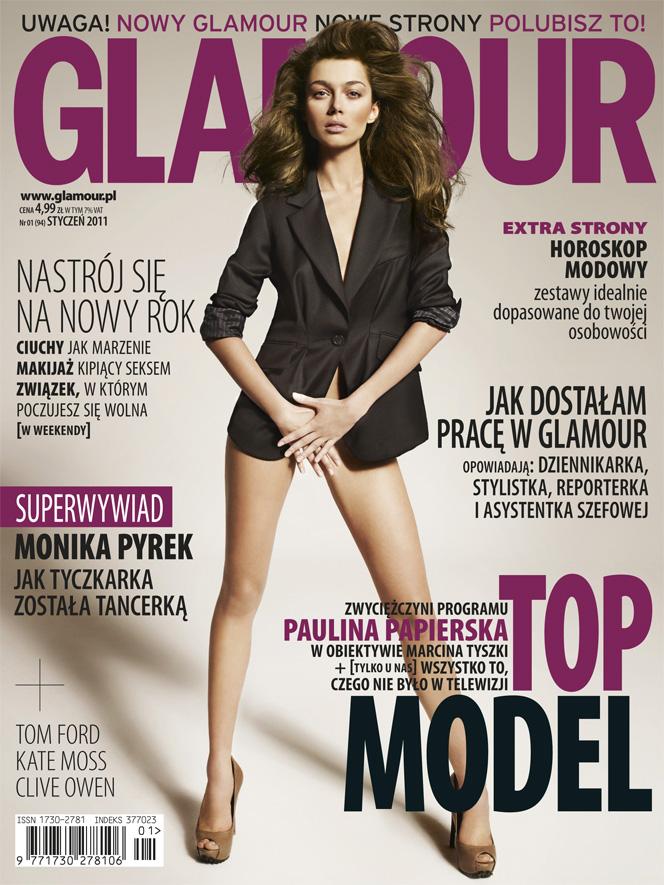 Glamour, Elle i Shape zyskały czytelników Glamour 1292934370