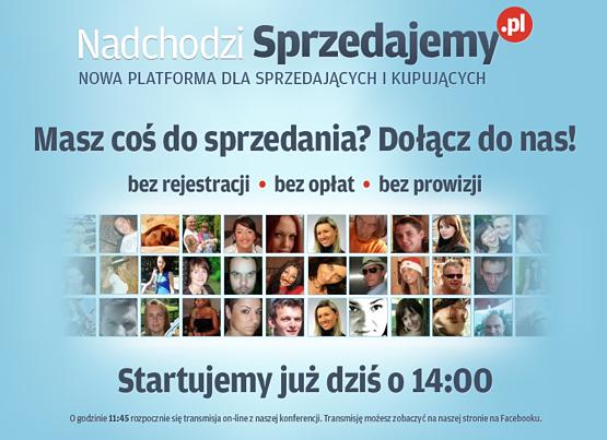 Rusza Sprzedajemy.pl (transmisja live) Sprzedajemy.pl 1300790374