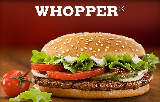 Beata Tyszkiewicz zachwala Whoppera (audio) Burger King 1309954335