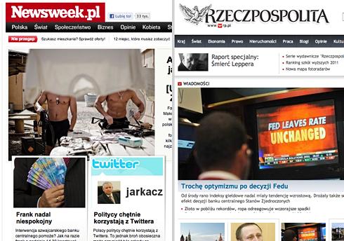 Newsweek.pl vs RP.pl: delikatny powiew świeżości Adv.pl 1313091665