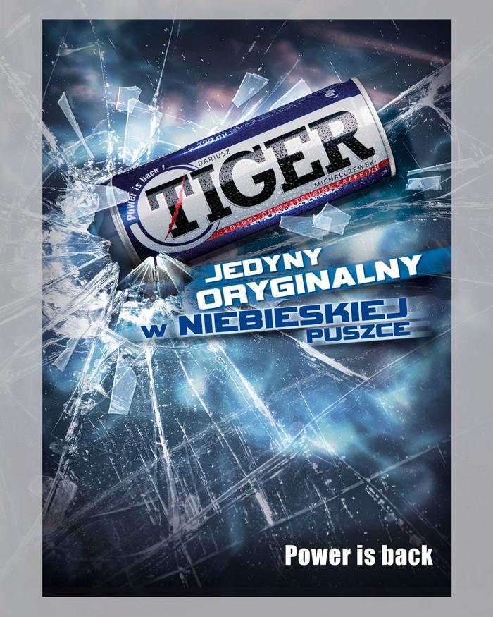 Tiger kontynuuje kampanię wizerunkową (wideo) Tiger 1316096991