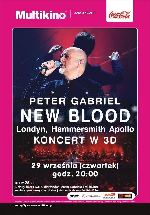 Peter Gabriel i koncert w 3D (konkurs) Konkurs 1317125220