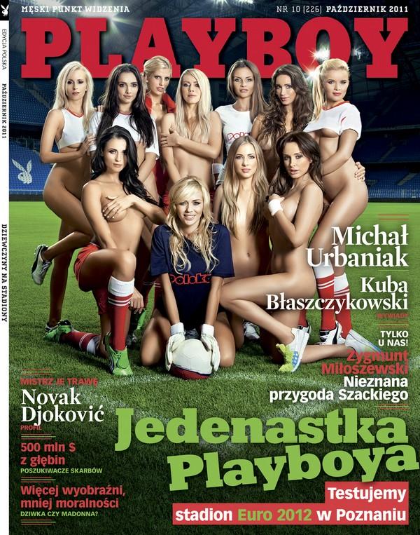 Stadion Lecha bohaterem sesji Playboya Playboy 1317217440