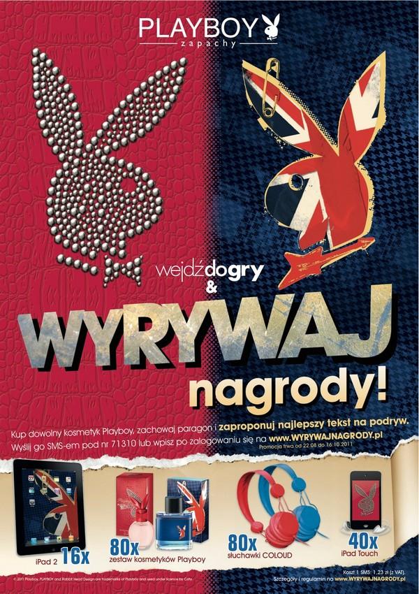 Playboy promuje nowe zapachy Playboy 1318337589