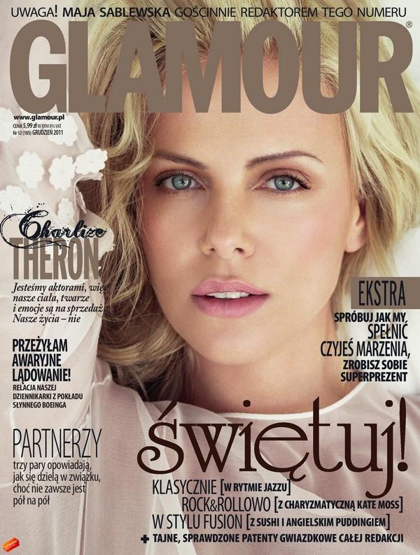 Maja Sablewska redaktorką świątecznego Glamour Glamour 1322317460