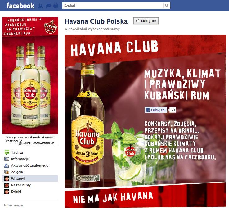 Havana Club na Facebooku z Adv.pl Adv.pl 1322489905