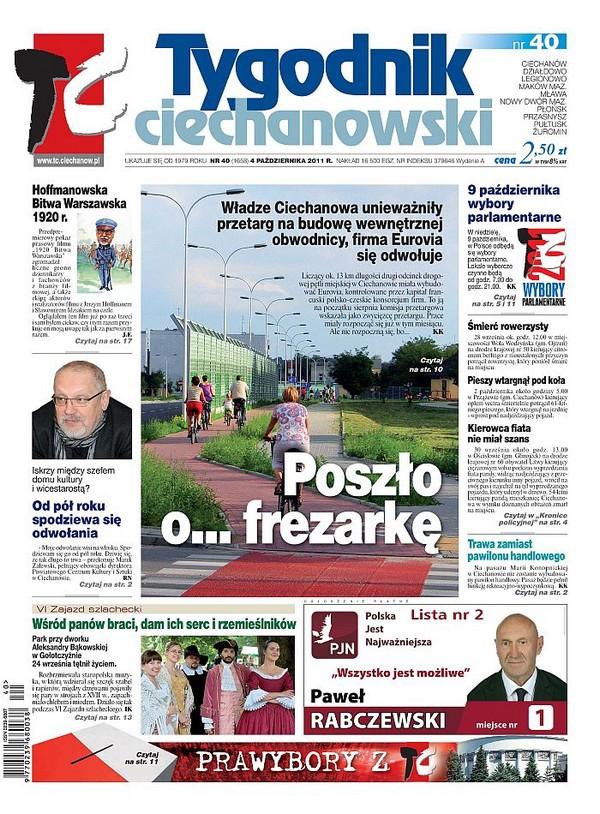 Tygodnik Ciechanowski z największą stratą ZKDP 1324480111