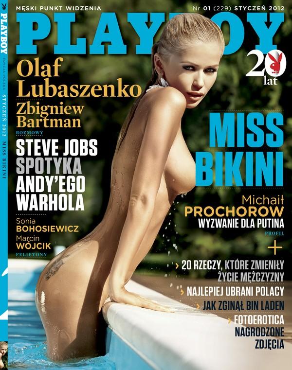 Styczniowy Playboy z kalendarzem Playboy 1325174857
