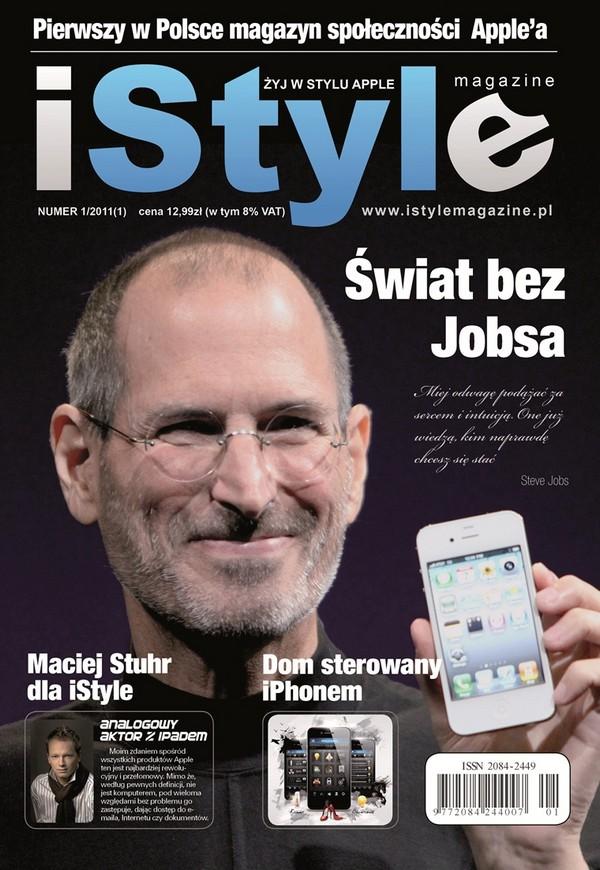 Debiutuje jedyny w Polsce magazyn o Apple - iStyle magazine Steve Jobs 1325766122