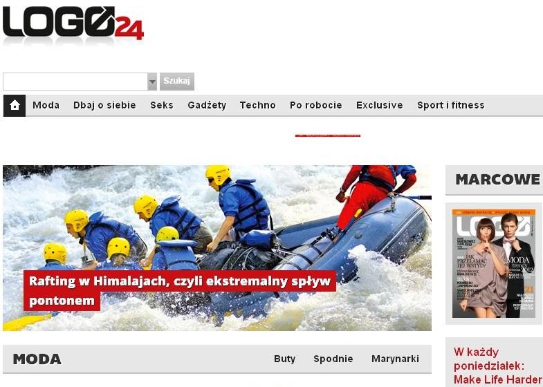 Logo24.pl z felietonami autorów Make Life Harder Logo 1333021539