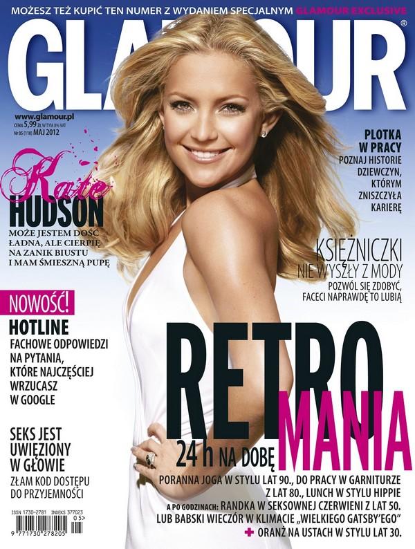 Majowy Glamour z dodatkiem modowych inspiracji za 9,99 zł Glamour 1335518980