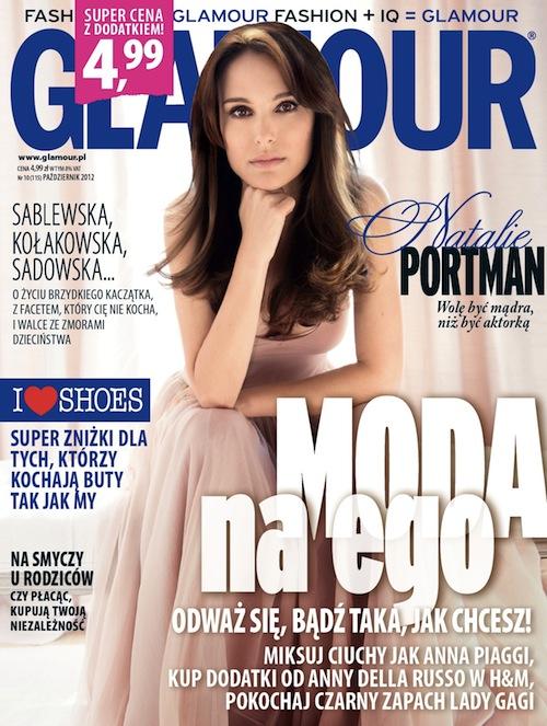Październikowy Glamour z dodatkiem Shopping Glamour 1348830184