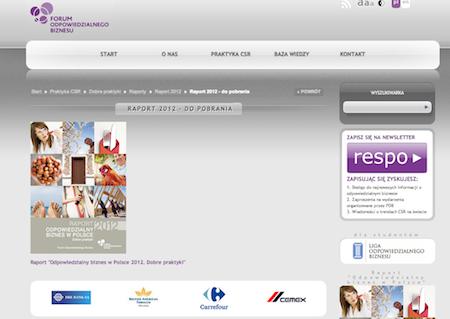 Carrefour Polska partnerem strategicznym Forum Odpowiedzialnego Biznesu Carrefour 1365064879