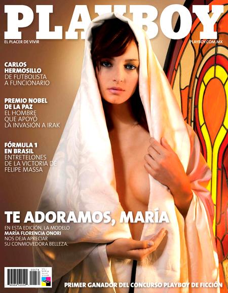 Skandaliczna okładka Playboya Playboy 1229549862