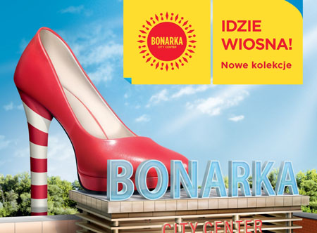 W Bonarka City Center idzie wiosna Focus Media Group 1267800533