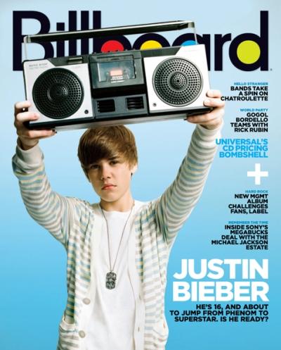 Justin Bieber retweetowany najczęściej Twitter 1288359956