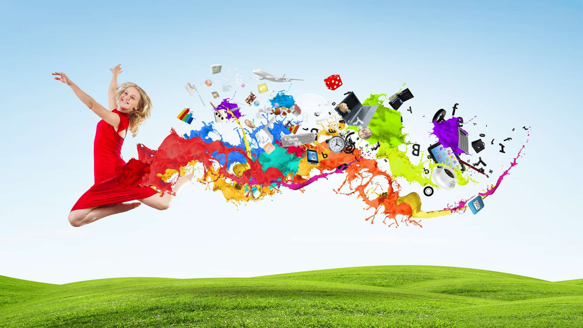 Pokoloruj swój biznes kolory Mediarun kolory 66887235 Subscription Monthly XL