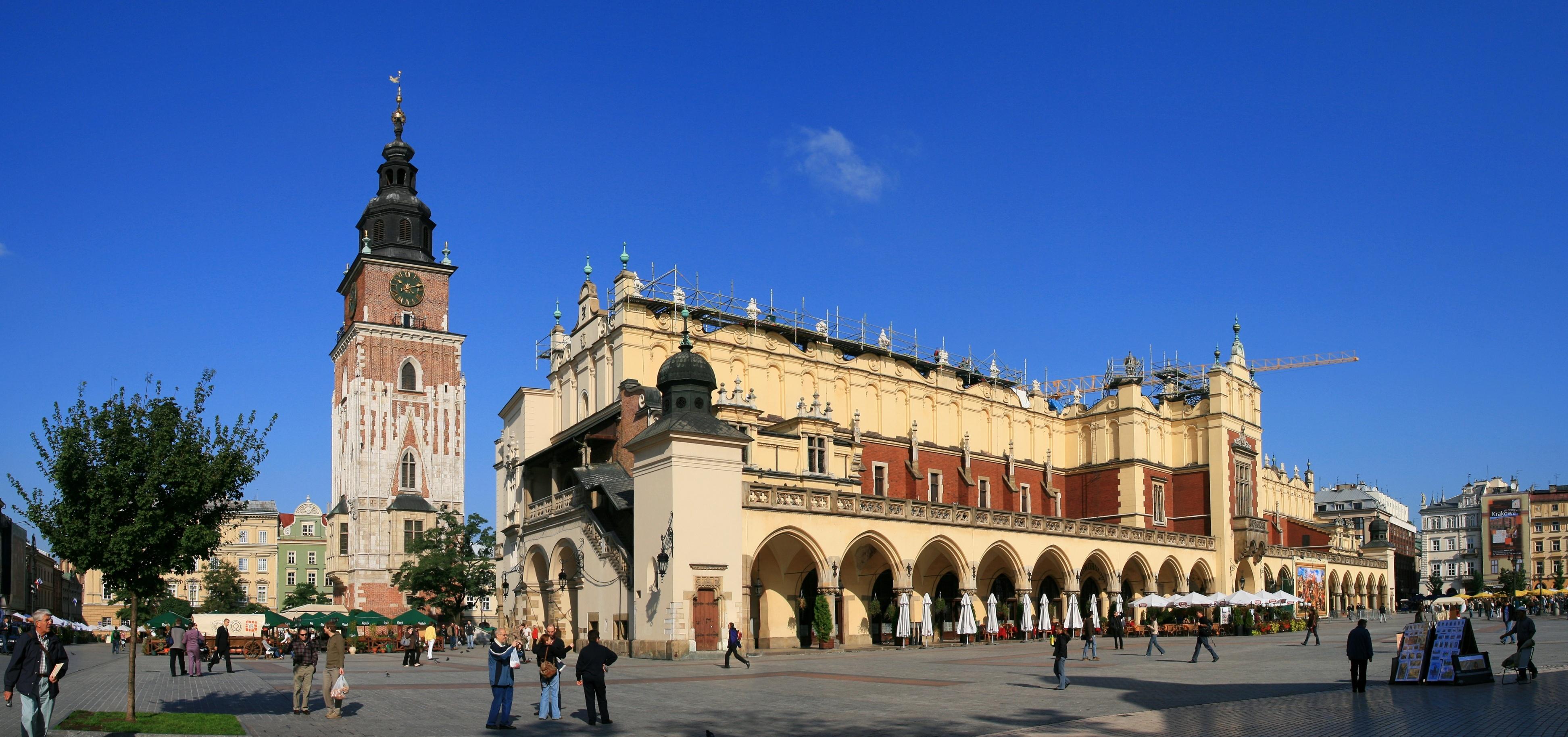 Kraków - perła Europy wg Brytyjczyków Badania Mediarun Com Krakow