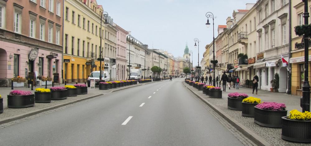 Polska na 44. miejscu w rankingu najdroższych ulic na świecie Badania Mediarun Com Nowy Swiat