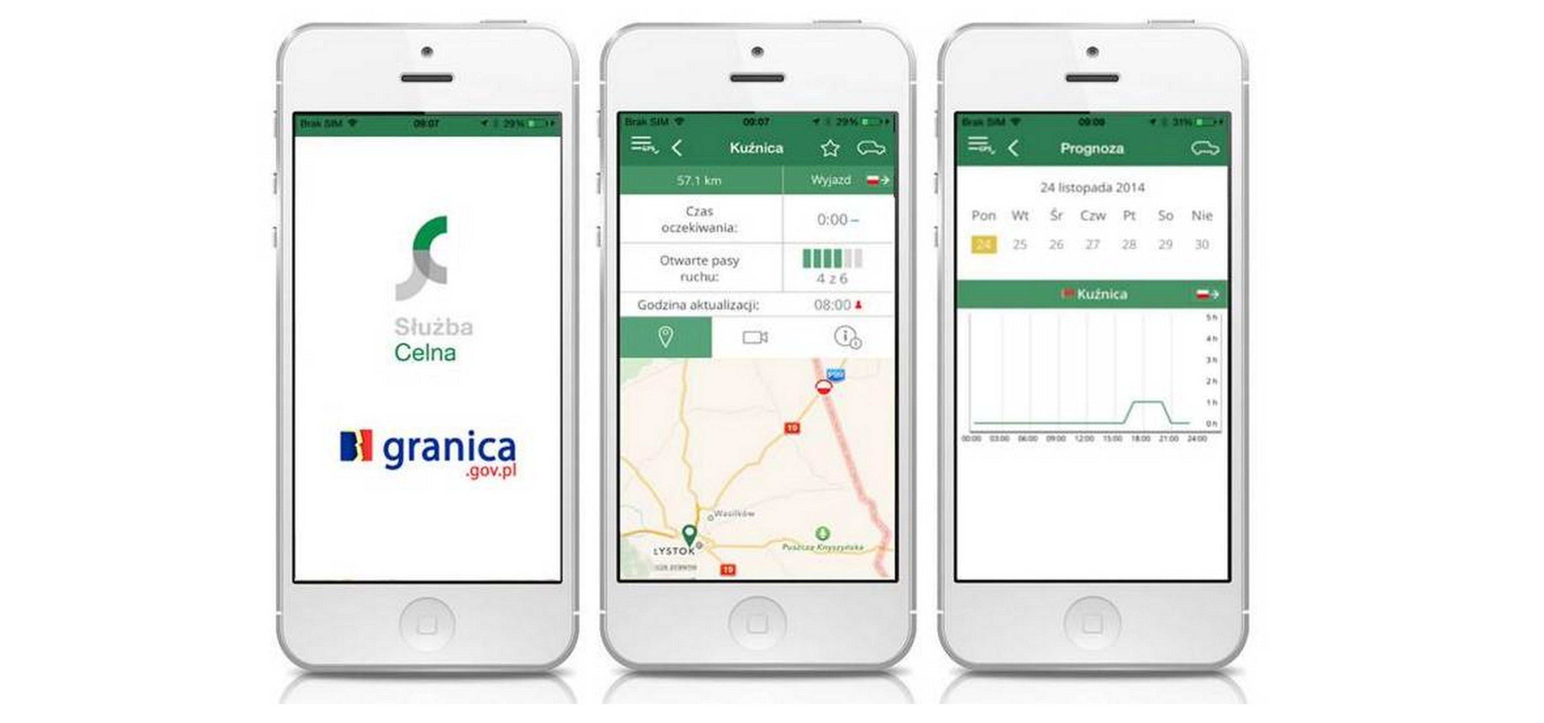 Mobilna GRANICA ułatwi kierowcom podróż aplikacja Mediarun Com Granica