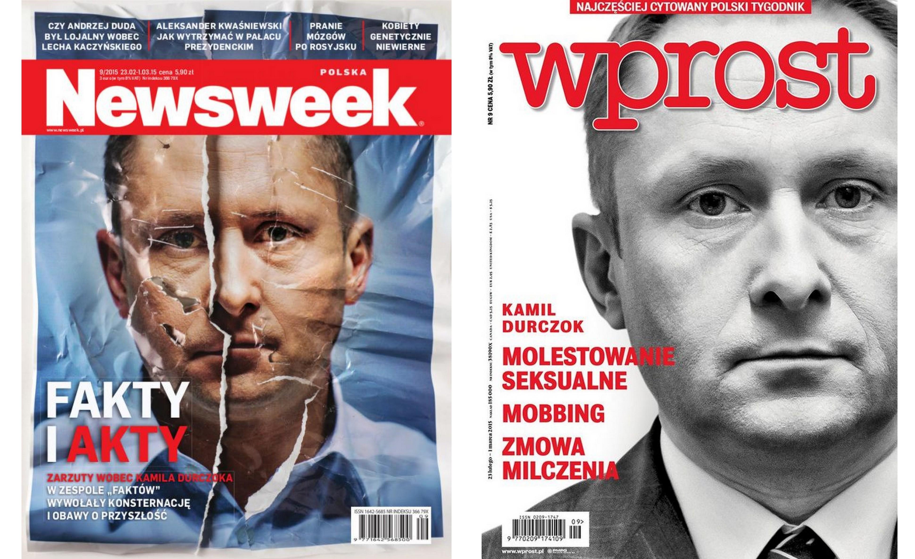 """Skandalu w """"Faktach"""" ciąg dalszy Wprost Desktop14"""