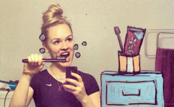 'Selfie' - zrób je kreatywnie selfie mediarun com selfie 41