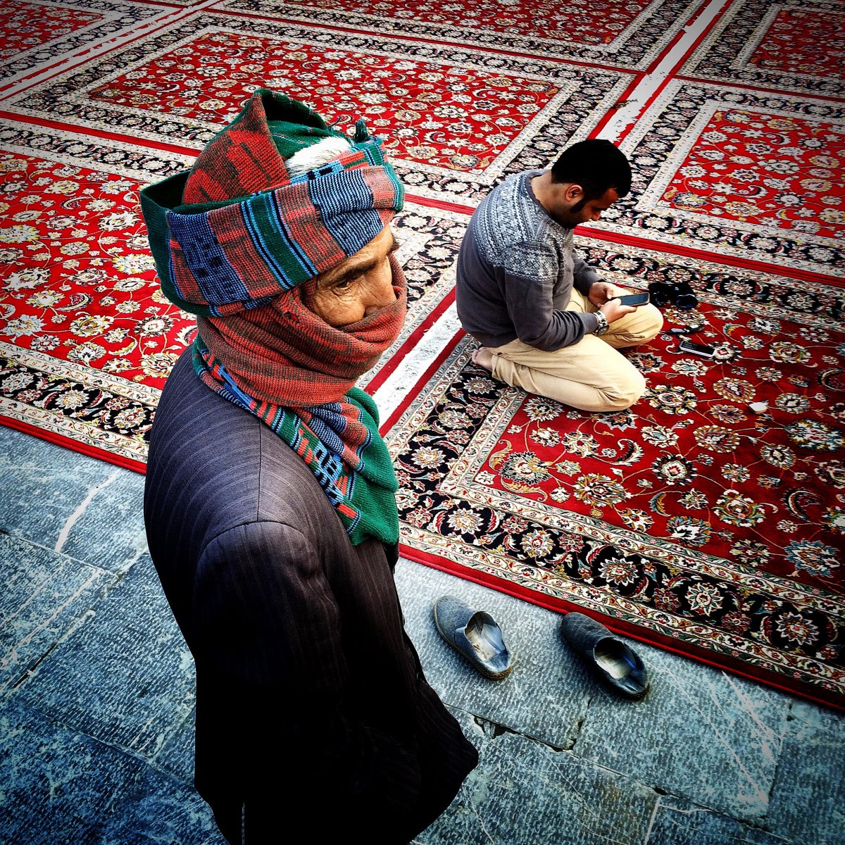 irans-hamed-nazari-has-two-photos-on-the-shortlist-this-one-shows-the-interior-of-the-imam-reza-shrine-in-mashhad-iran