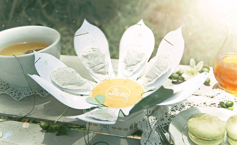 Opakowania inspirowane origami Trendy mediarun com herbata1