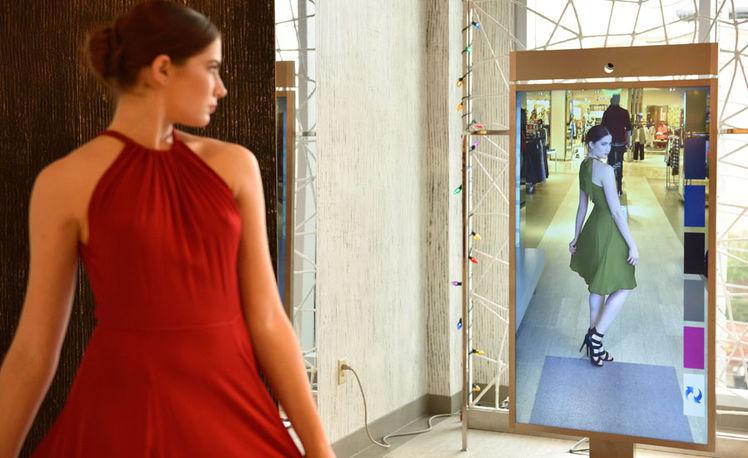 Inteligentne lustro powie Ci w czym wyglądasz najlepiej moda mediarun com lustro
