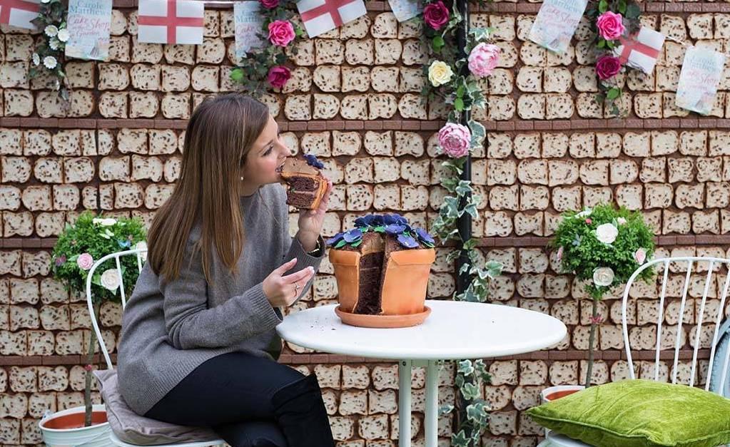 Cukrowy ogród pomysłem na promocję Promocja mediarun com cake garden
