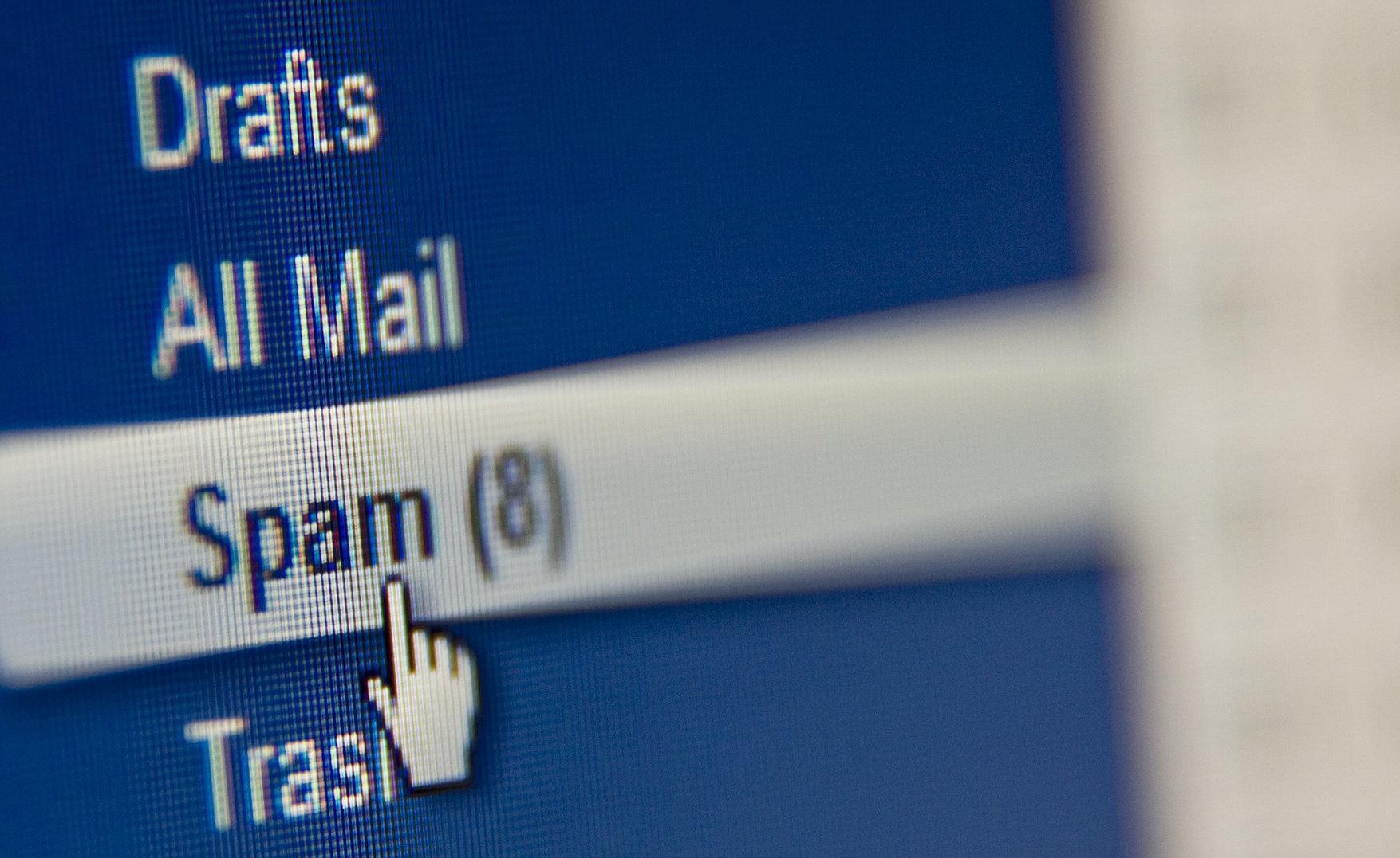 Koniec ery spamu? e-mail mediarun com spam 1
