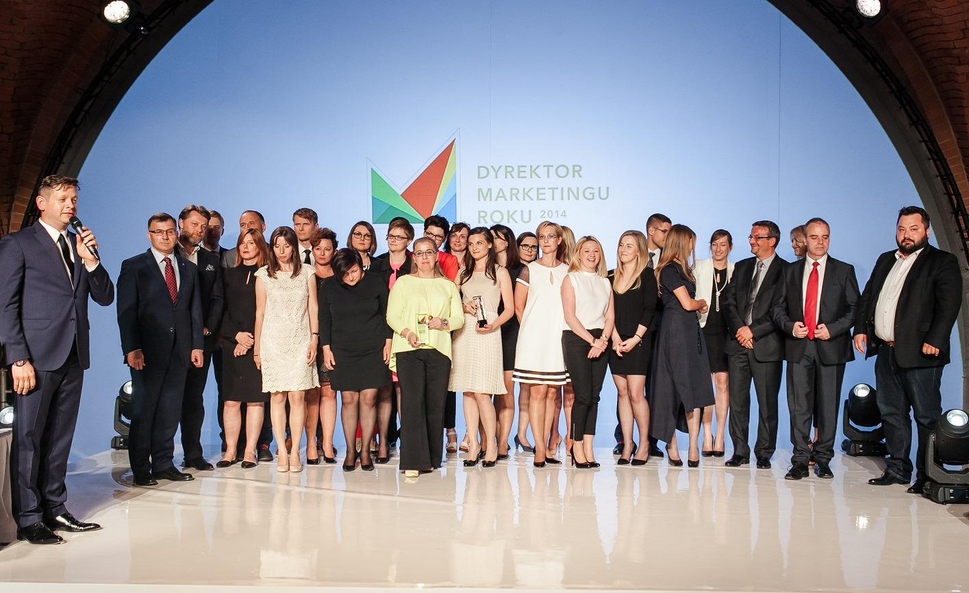 Najlepsi marketerzy w Polsce! Dyrektor Marketingu Roku dmr2014 mediarun com 3