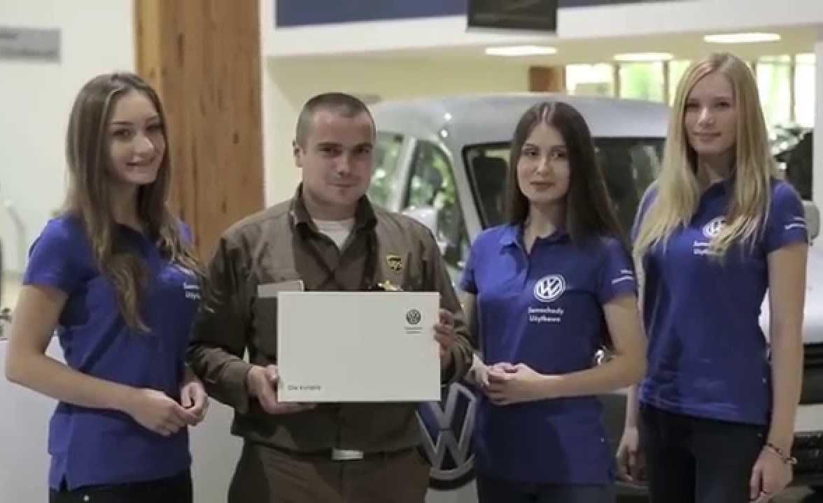 Volkswagen zmienia zasady gry (wideo) Volkswagen volkswagen mediarun com