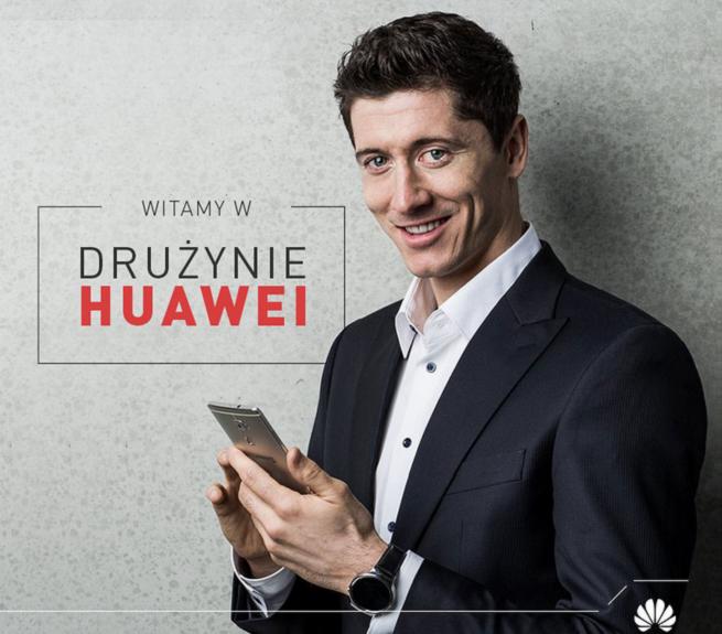 Nowy ambasador reklamowy Huawei Huawei Huawei RobertLewandowski655