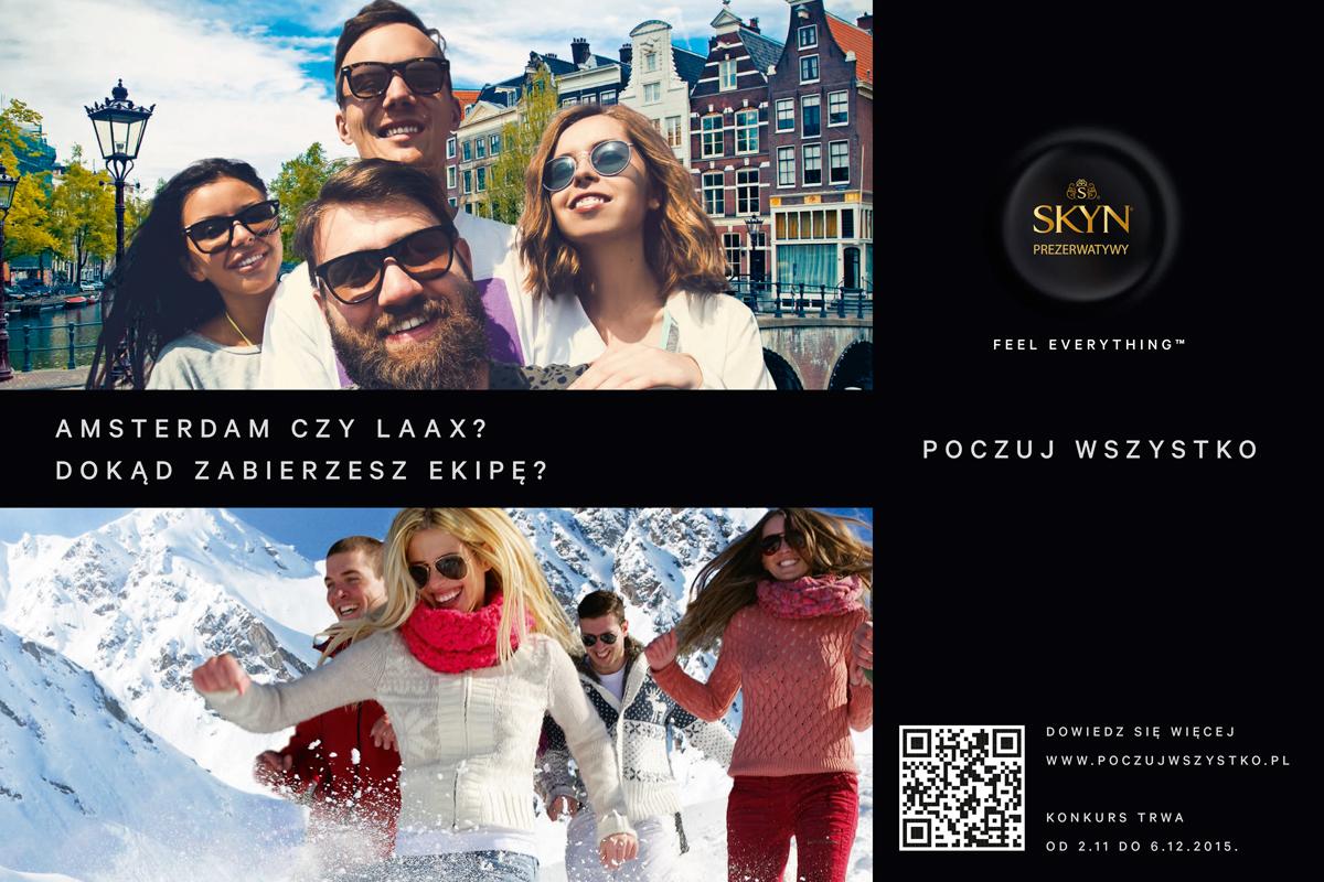 Konkurs Unimil SKYN organizowany przez S4 Konkurs Unimil aktywacja jesien poziom