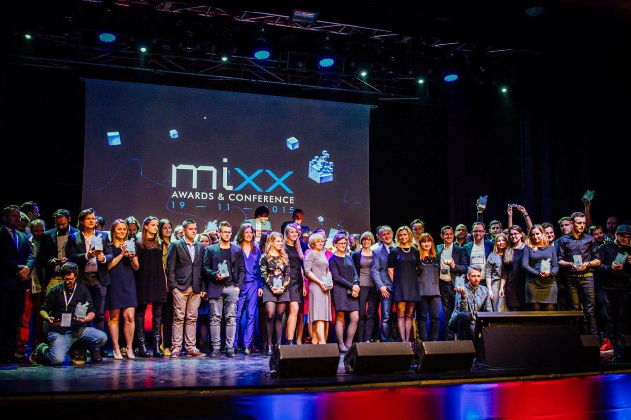 MIXX Awards nominował zwycięzców VML Poland zwyciezcy MIXX 2015