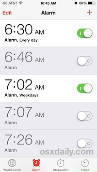 too-many-alarms-iphone-clock