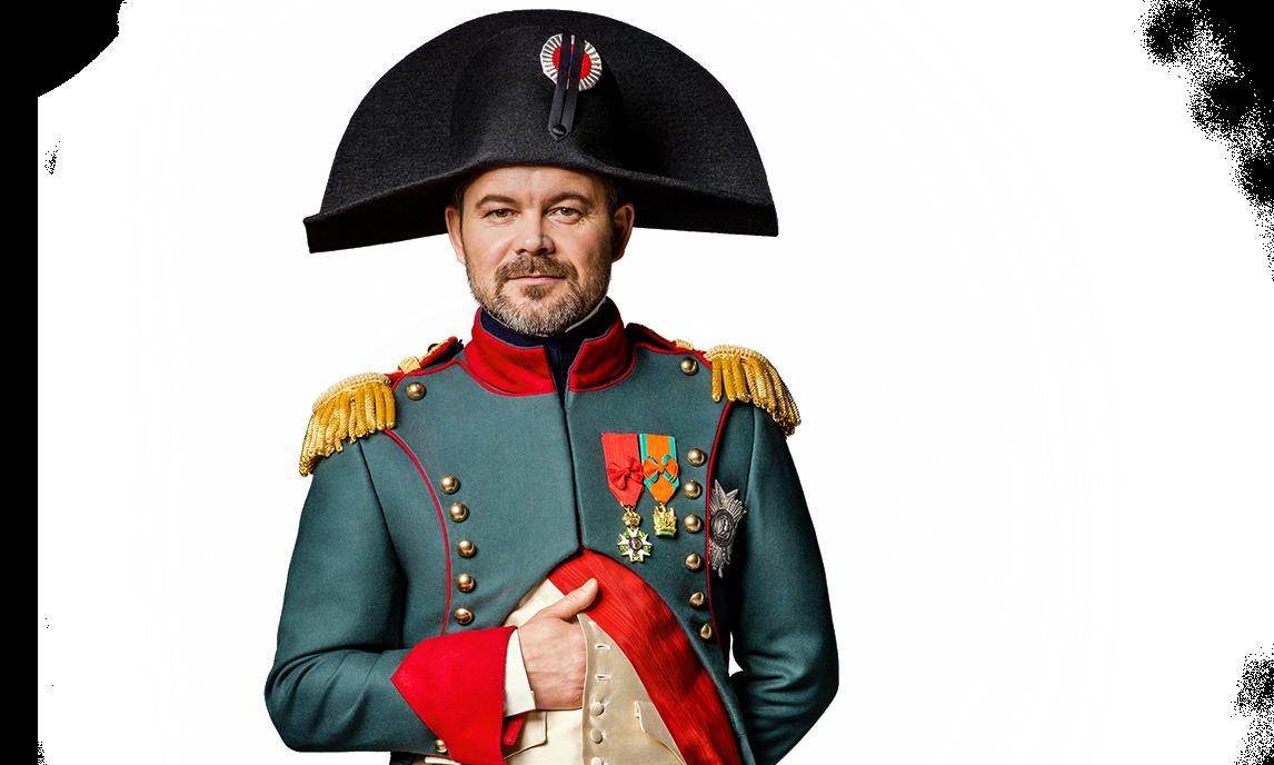 """""""Bonjour w Carrefour"""", czyli Napoleon w akcji Carrefour napoleon crop"""
