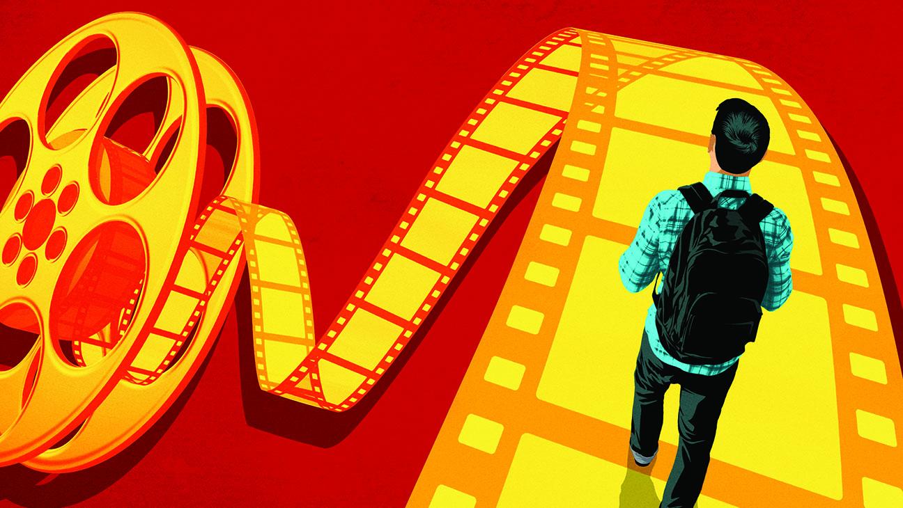 "Raport - Portret fanów seriali ""nowej fali"": HBO w natarciu! POLSAT american film schools illo"