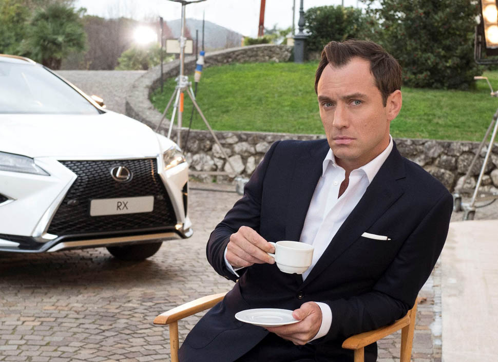 """Jude Law Partners with Lexus to live """"The Life RX"""""""