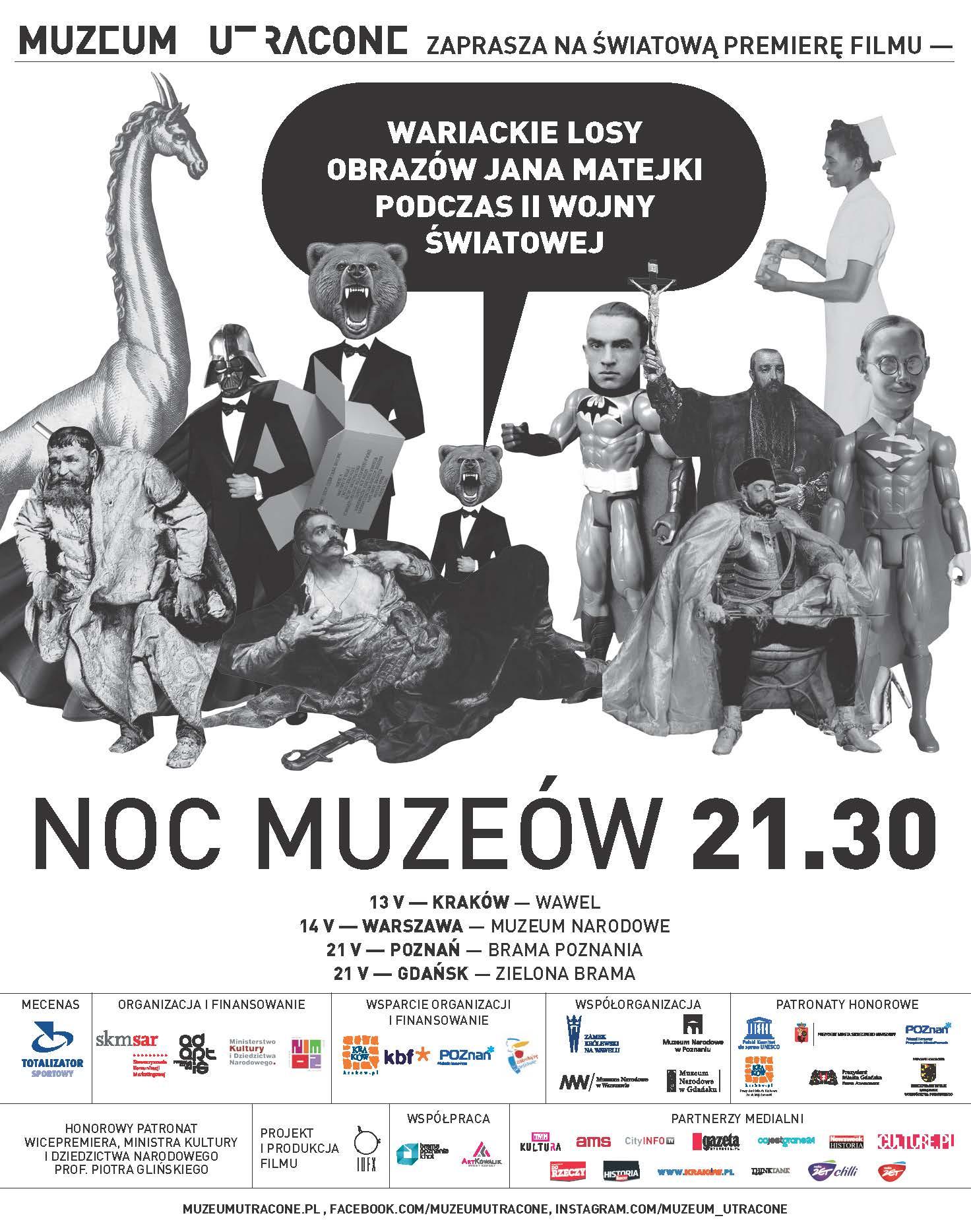 Totalizator Sportowy Mecenasem projektu Muzeum Utracone 2016 Mediarun Opinie 186mm x 237mm 090516 02