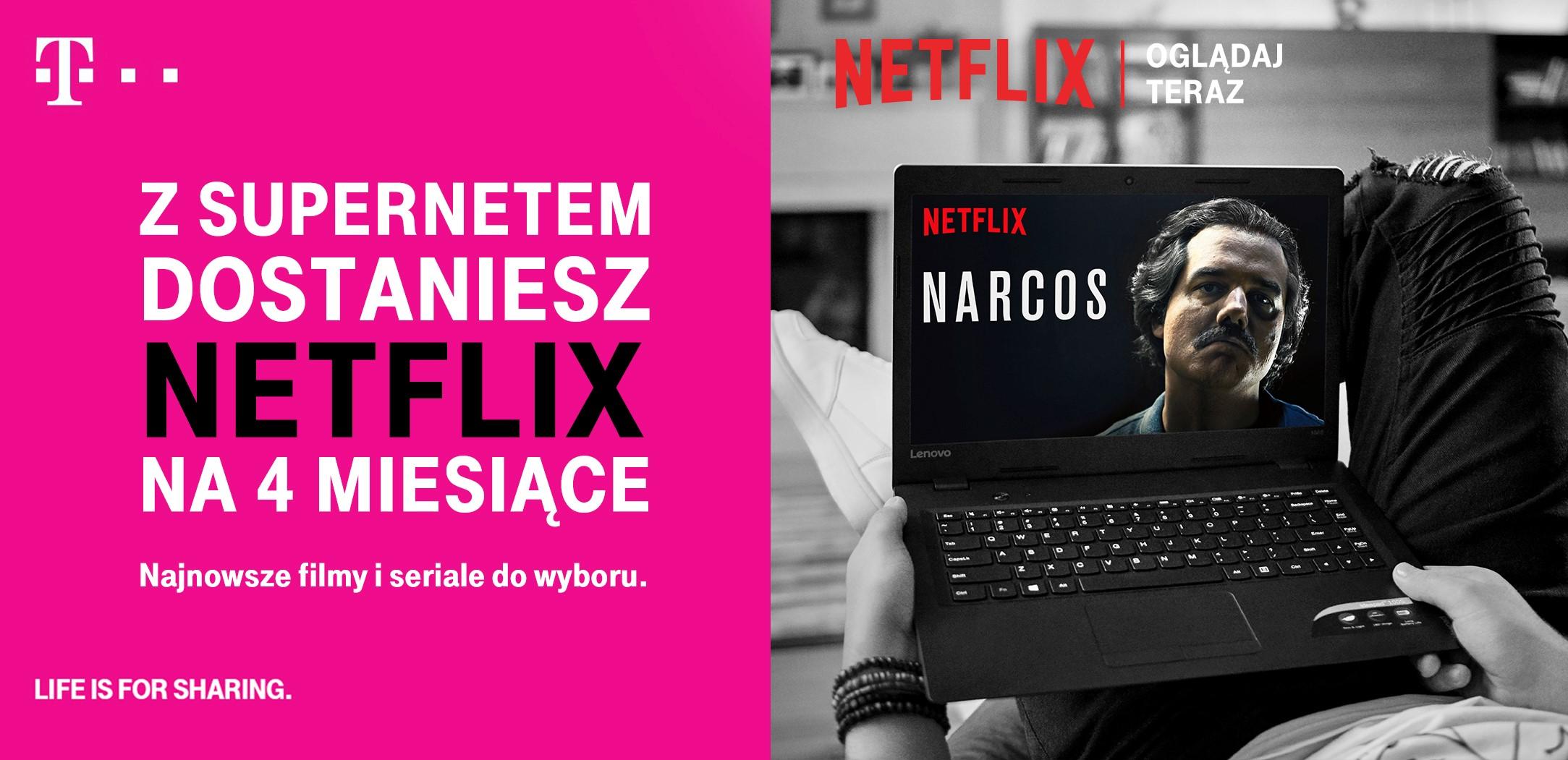 Netflix za darmo w T-Mobile VoD Mieszkanie 11.10.2016