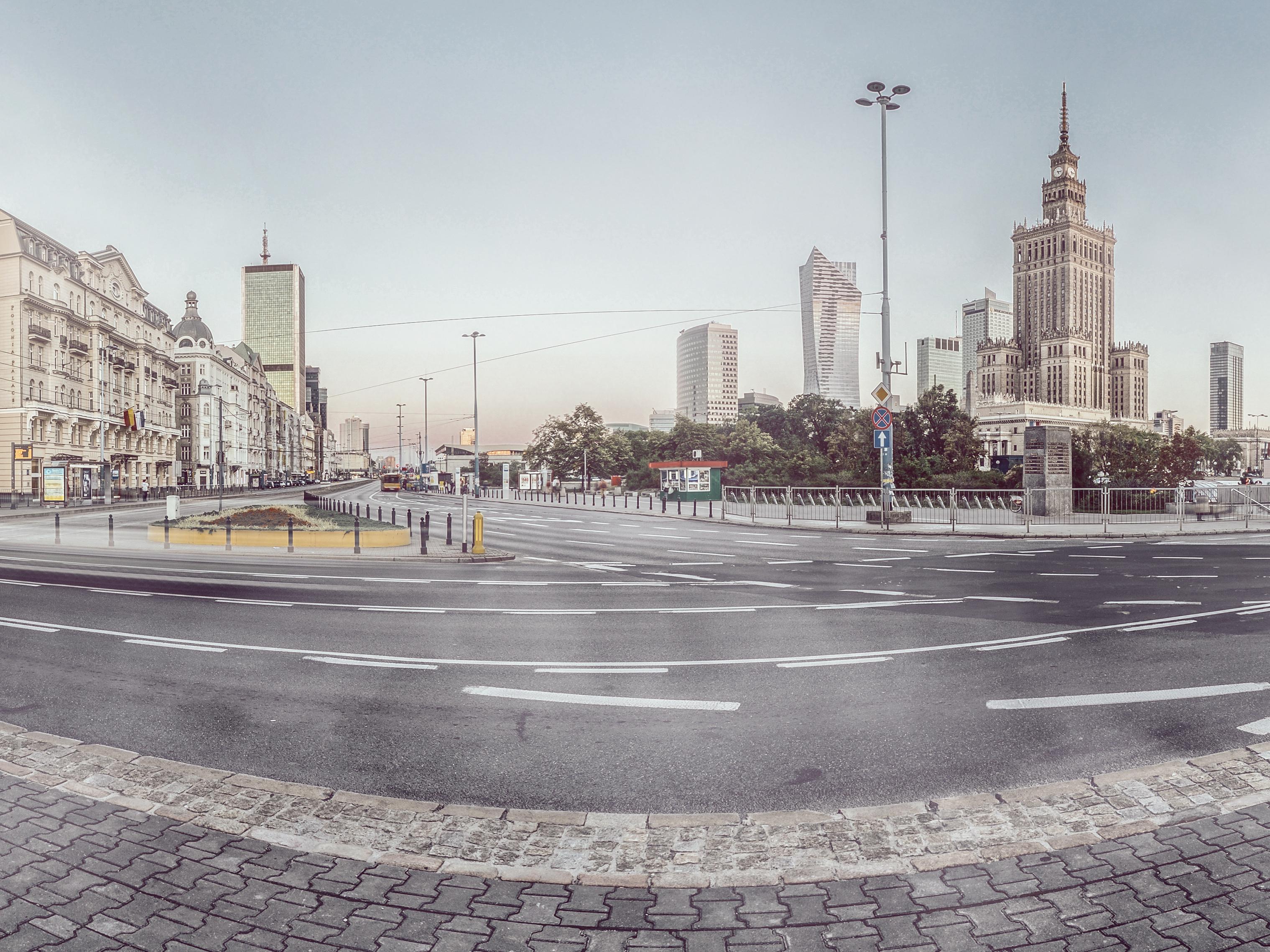 Nowa perspektywa miastaw kampanii Nike Nike Nowa Perspektywa Miasta Rotunda