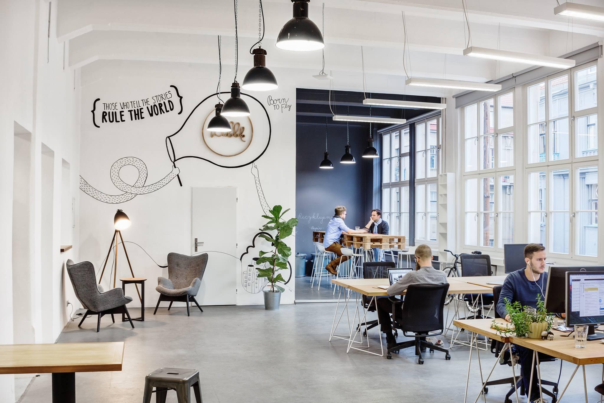 TOP 10 - Najfajniejsze biura na świecie Biuro najlepsze miejsca pracy