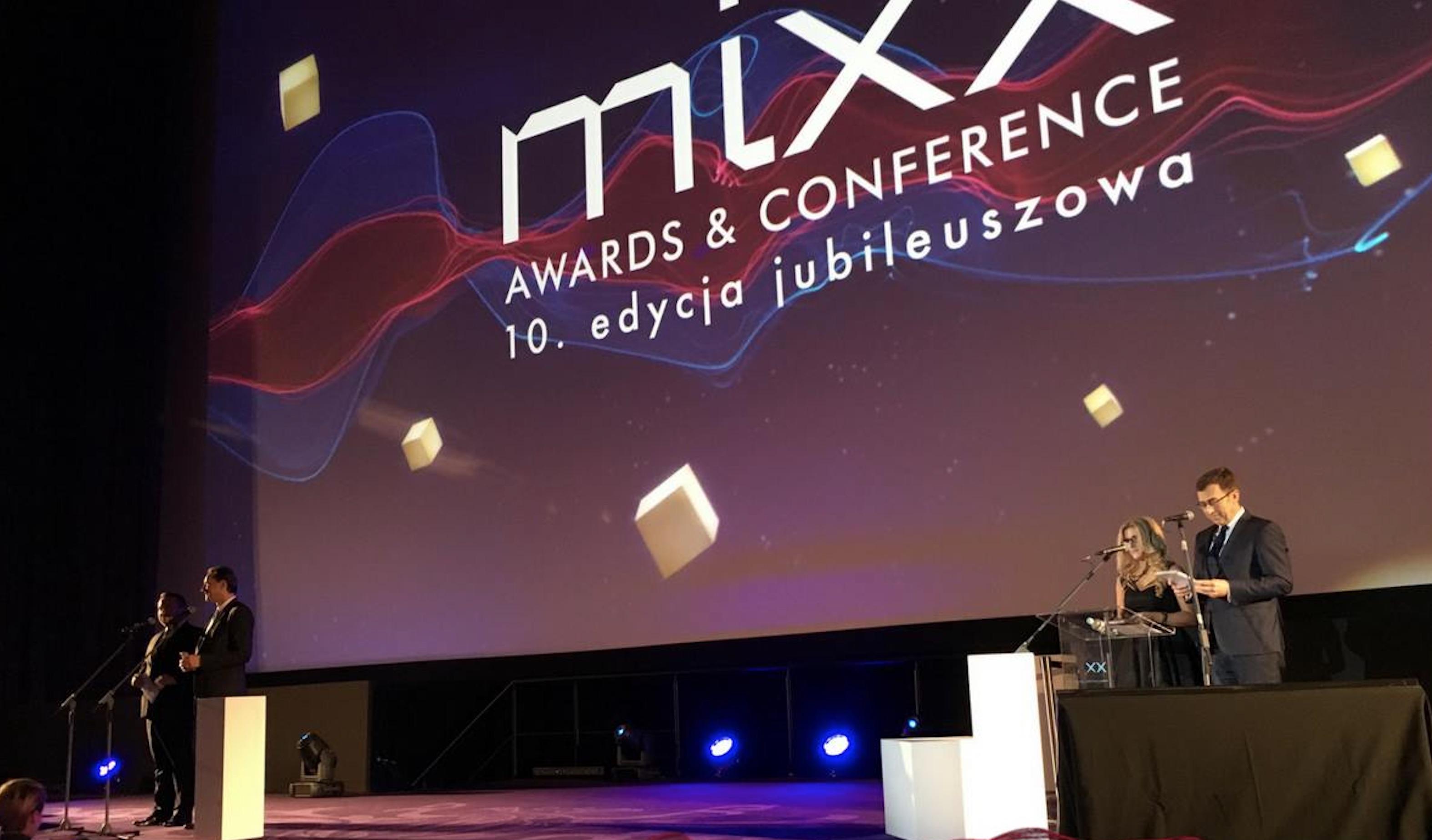 Znamy zwycięzców 10. edycji MIXX Awards! Nagrody mediarun mix conference