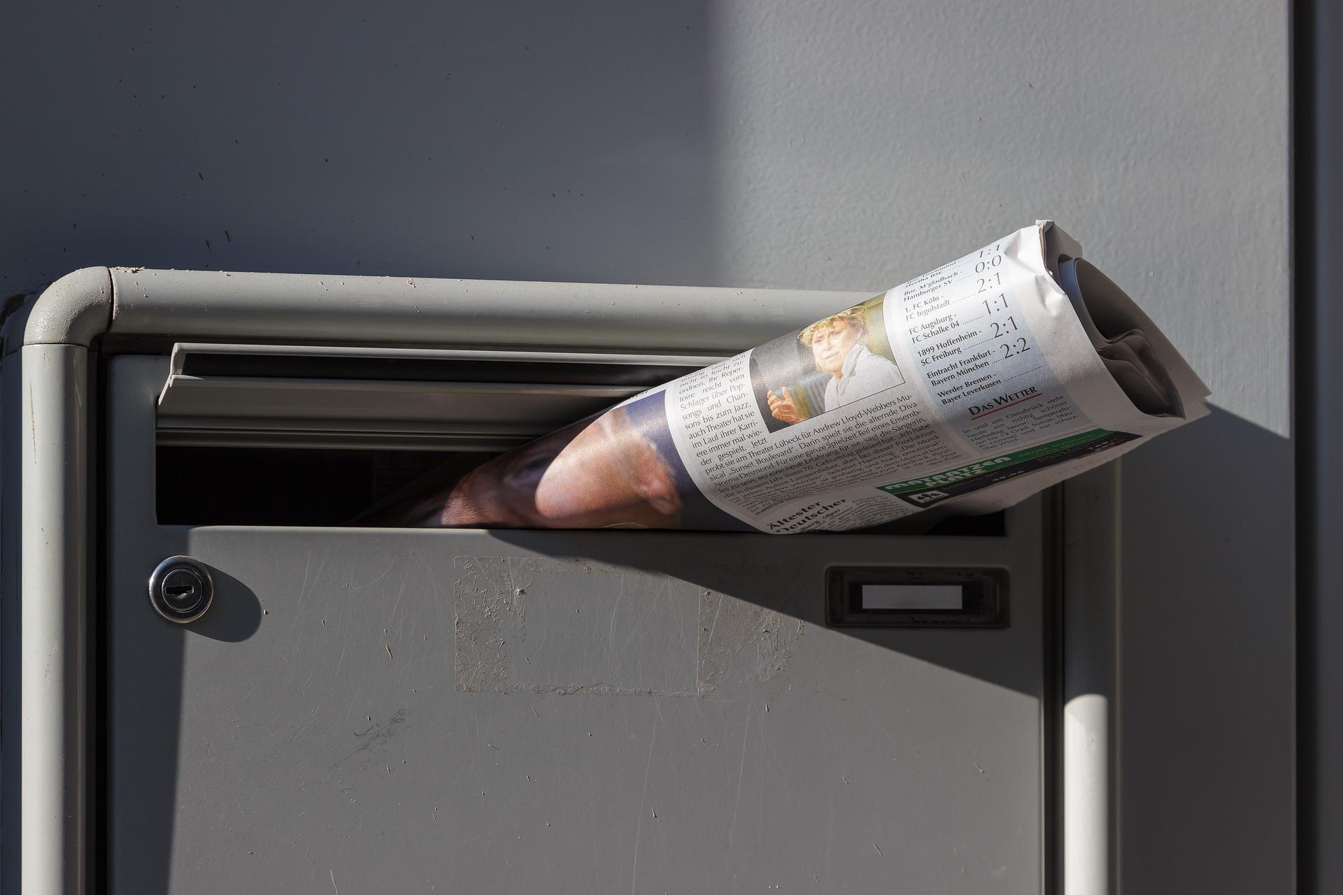 O czym musisz pamiętać, zanim wyślesz newsletter newsletter newspaper 1746350 1920