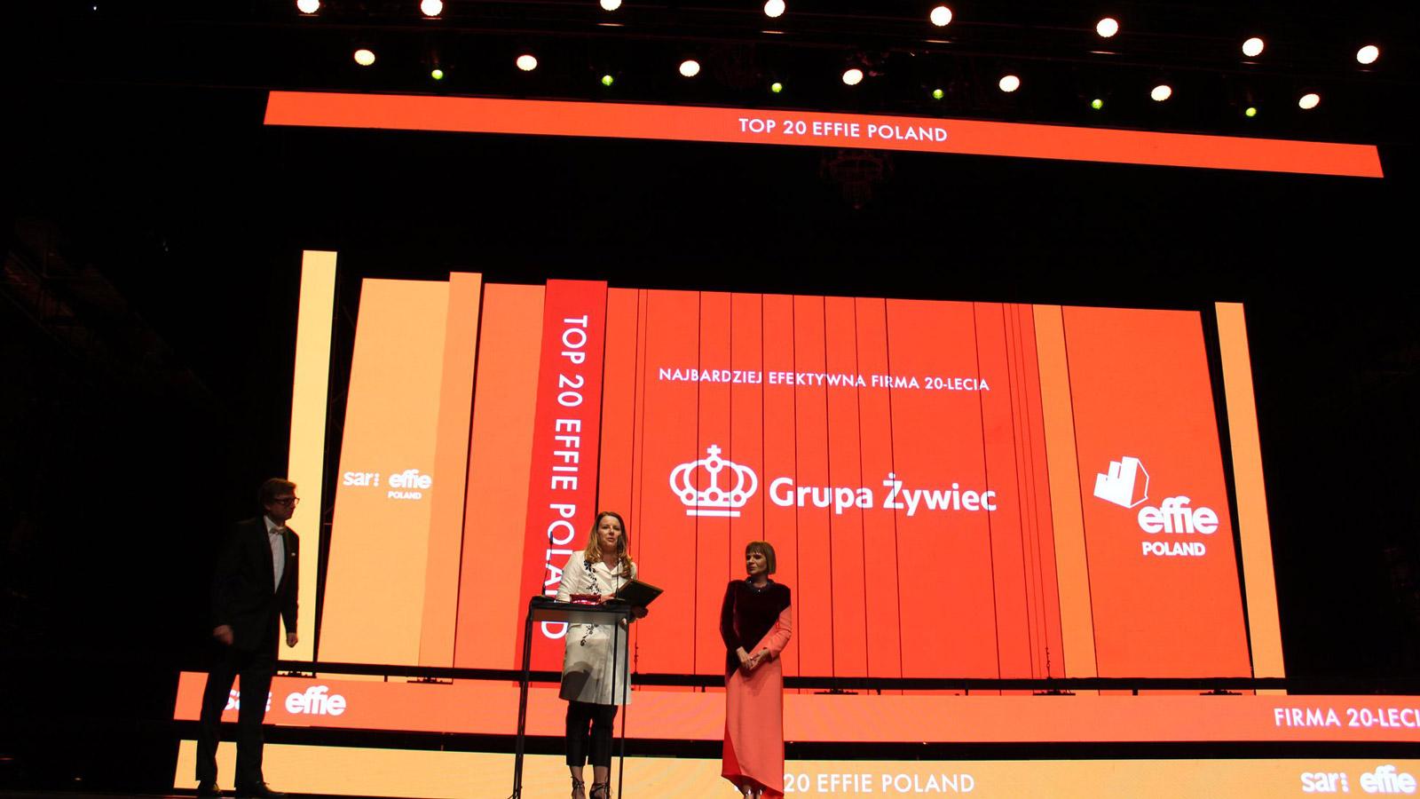 Nagrody EFFIE przyznane - ŻYWIEC z Grand Prix Konkurs mediarun effie konkurs 2019