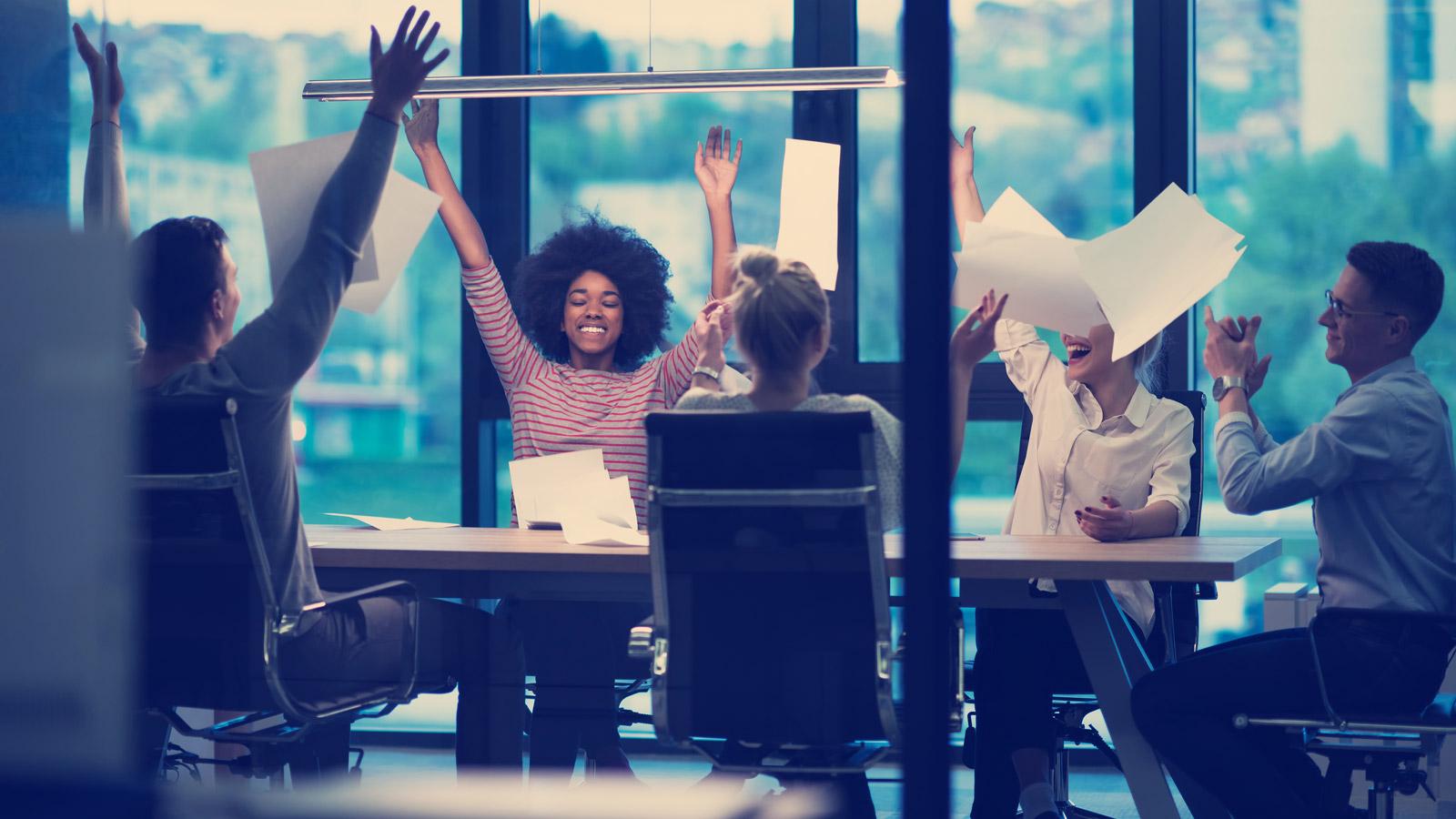 Nowa Grupa Marketingowa na rynku Brandwise mediarun radosc grupa biuro spotkanie 2019