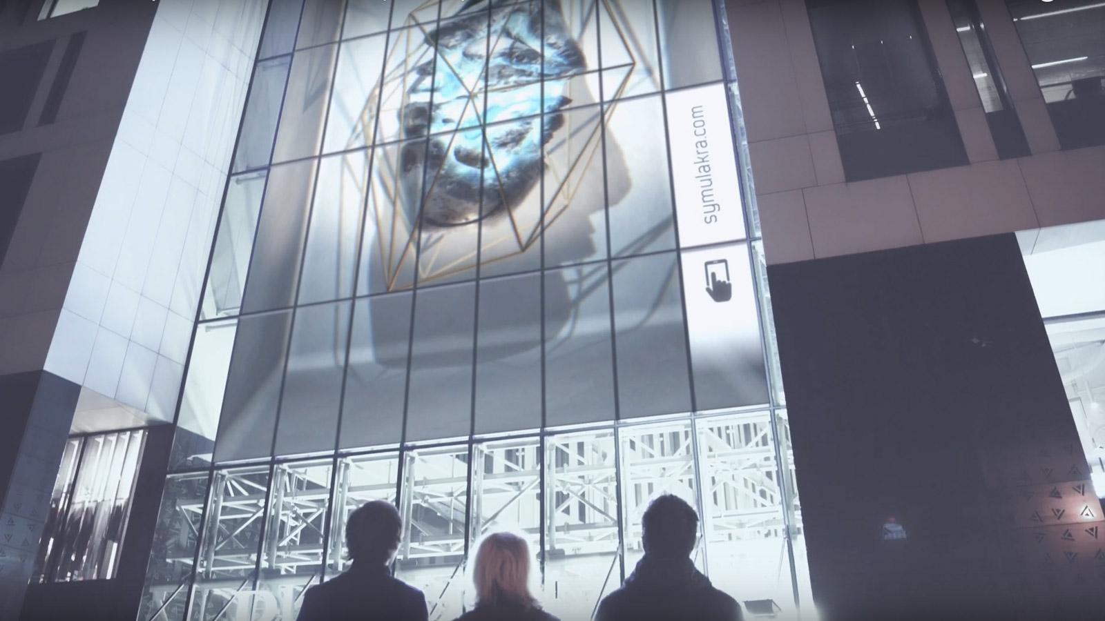 Sztuka w DOOH? Nowatorski projekt w Warszawie DOOH mediarun Symulakra sztuka 2019