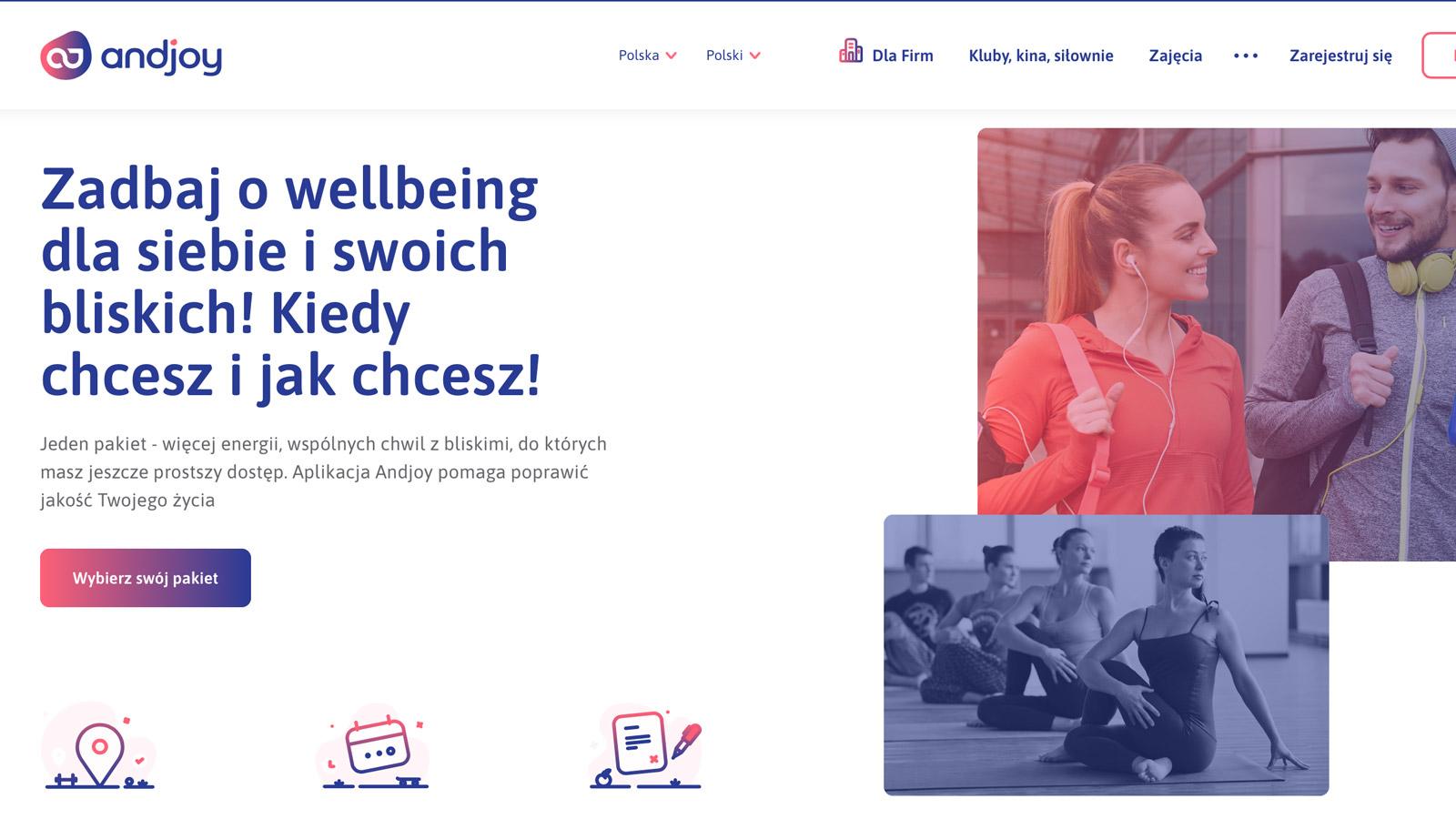 Aplikacja dbająca o wellbeing pracowników Sodexo mediarun andjoy wellbeing aplikacja 2019